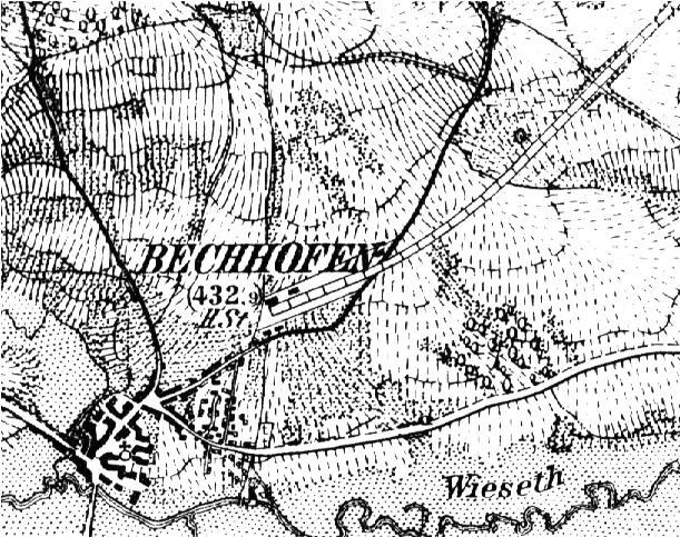 Lageplan Bechhofen