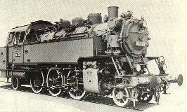 Baureihe 64 - sie verkehrte bis in die sechziger Jahre auf unserer Strecke