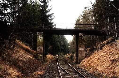 Pfaffenholzbrücke von  Norden