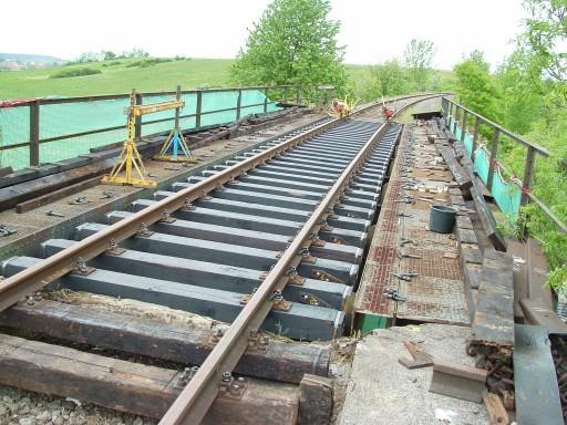 Brücke Schopfloch Mai 2006 - neue Schwellen