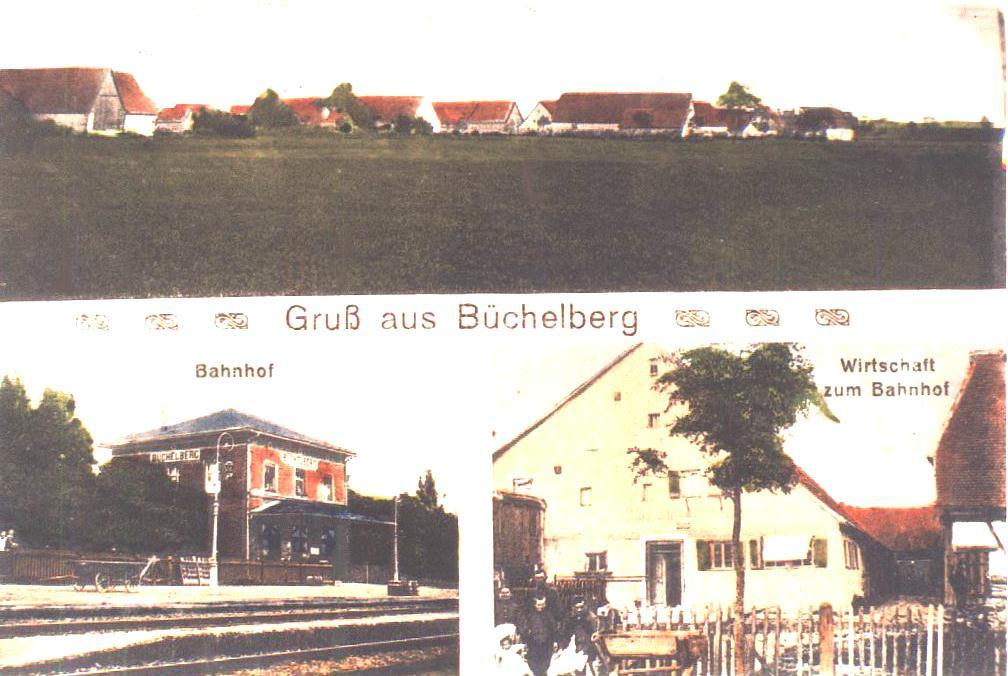 Ansichtskarte von Büchelberg