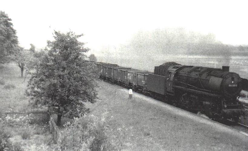 044er am ehemaligen Bahnhof Büchelberg