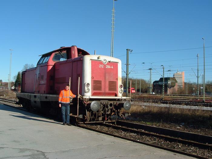 Max Gampfer und die 212er - Crailsheim 13.1.2015