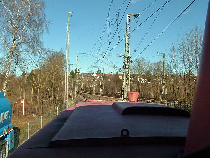 Ausfahrt Crailsheim 13.1.2015