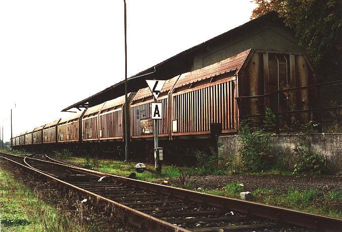 Güterhalle in Dinkelsbühl 4.10.1995