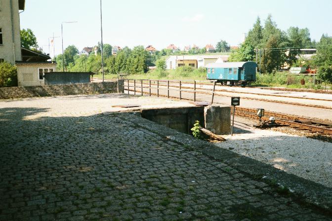 Kopframpe in Dinkelsbühl 1985