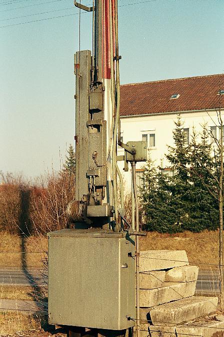 Detail  Einfahrhauptsignal Dinkelsbühl Süd 2.1.1990