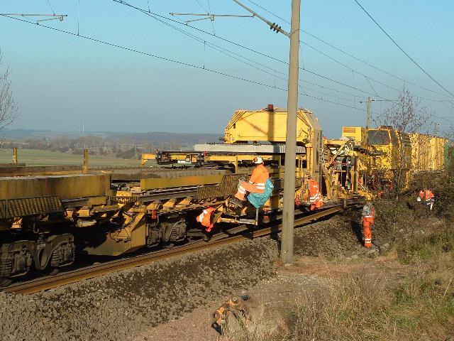 Umbauzug bei Atzenhofen 2007