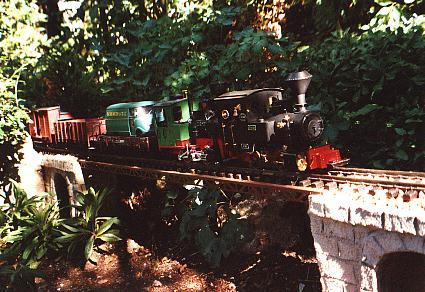 Schwerer Güterzug in Doppeltraktion