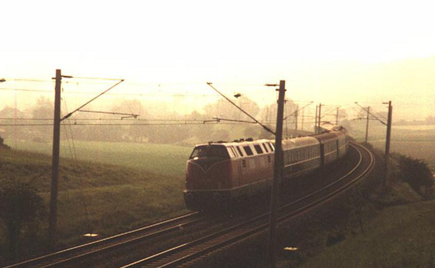 V 200 beim Bk Eichholz Sonderzug 1990