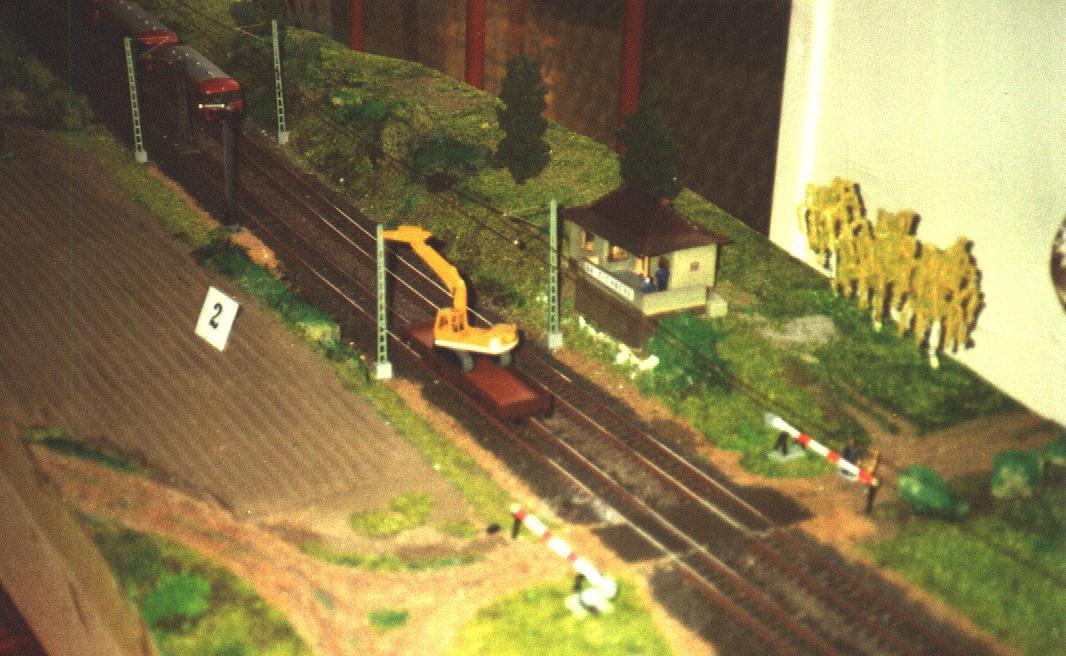Modell Bk Eichholz der Eisenbahnfreunde Ansbach 1990