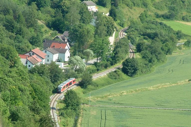 Blick von der Willibaldsburg Eichstätt 2006