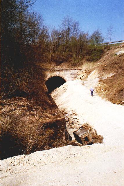 Ostportal Bildwasentunnel im April 2003