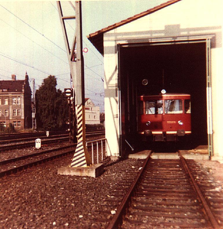 Turmtriebwagen in Ansbach