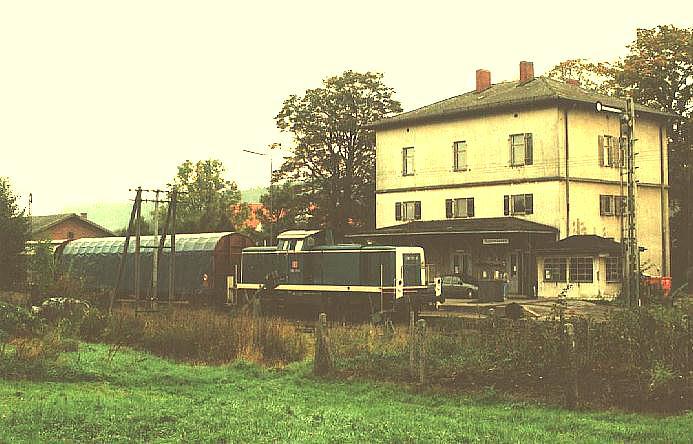 Abfahrbereit in Feuchtwangen am 4.10.1995