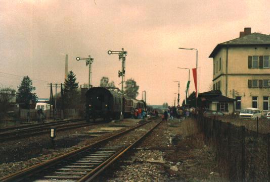 Eröffnungsfahrt 1993
