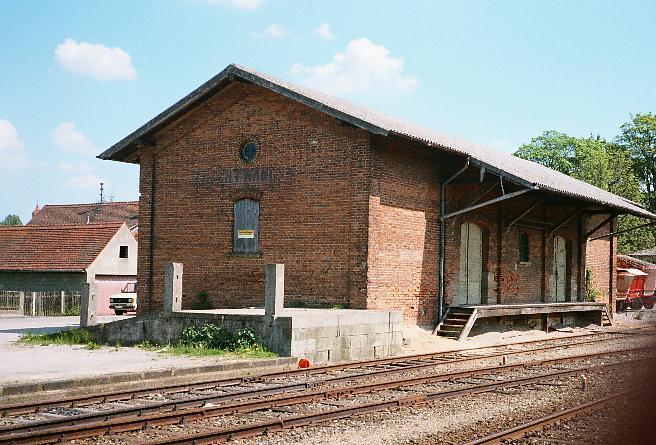Güterhalle Feuchtwangen 1985