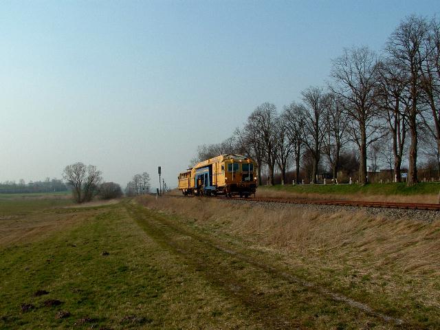 """""""Filstal-Express"""" am16.3.07 bei km 31,8"""
