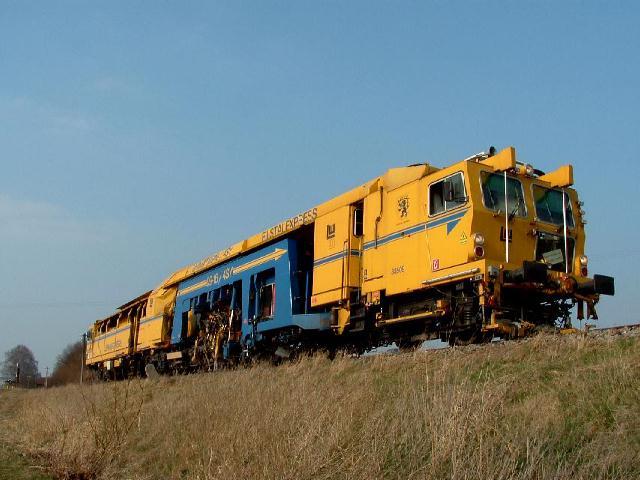 """""""Filstal-Express"""" am 16.3.07 bei km 32,0"""