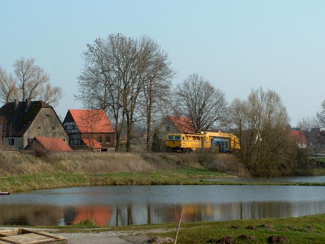 """Filstal-Express"" am 16.3.07 bei km 31,5 (Ölmühle)"