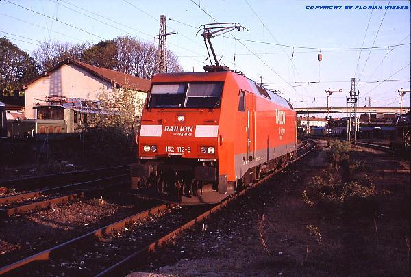 DB Railion 152 112-9 Nördlingen