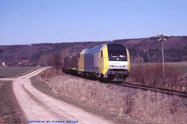 Siemens Dispolok ER 20-009 Greiselbach