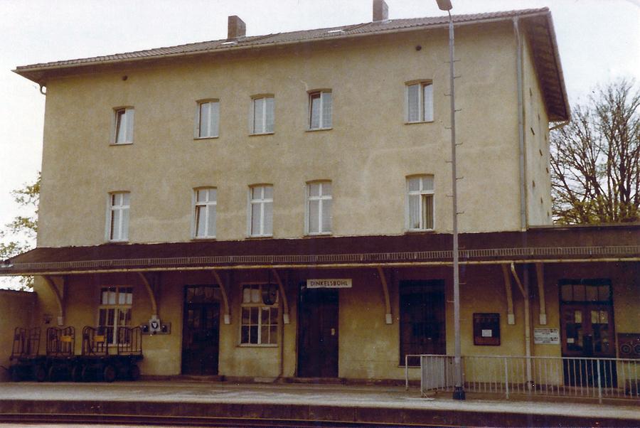 Bahnhofsgebäude Dinkelsbühl