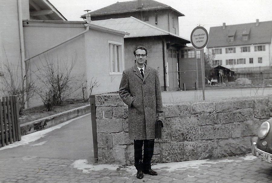 Bahnhofszufahrt Dinkelsbühl