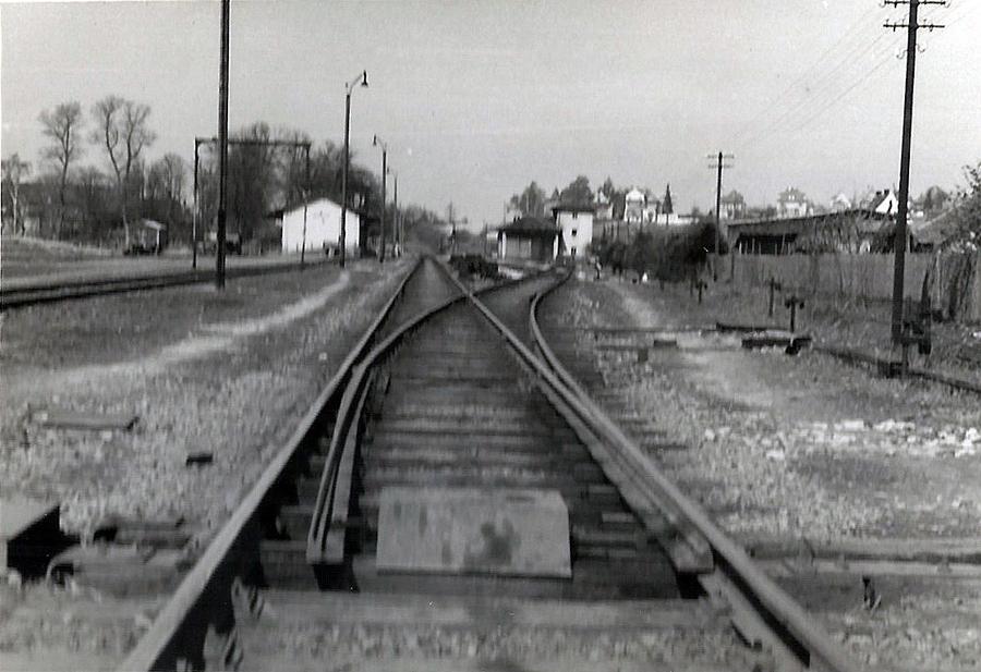 Blick von Süden  - Bahngelände Dinkelsbühl