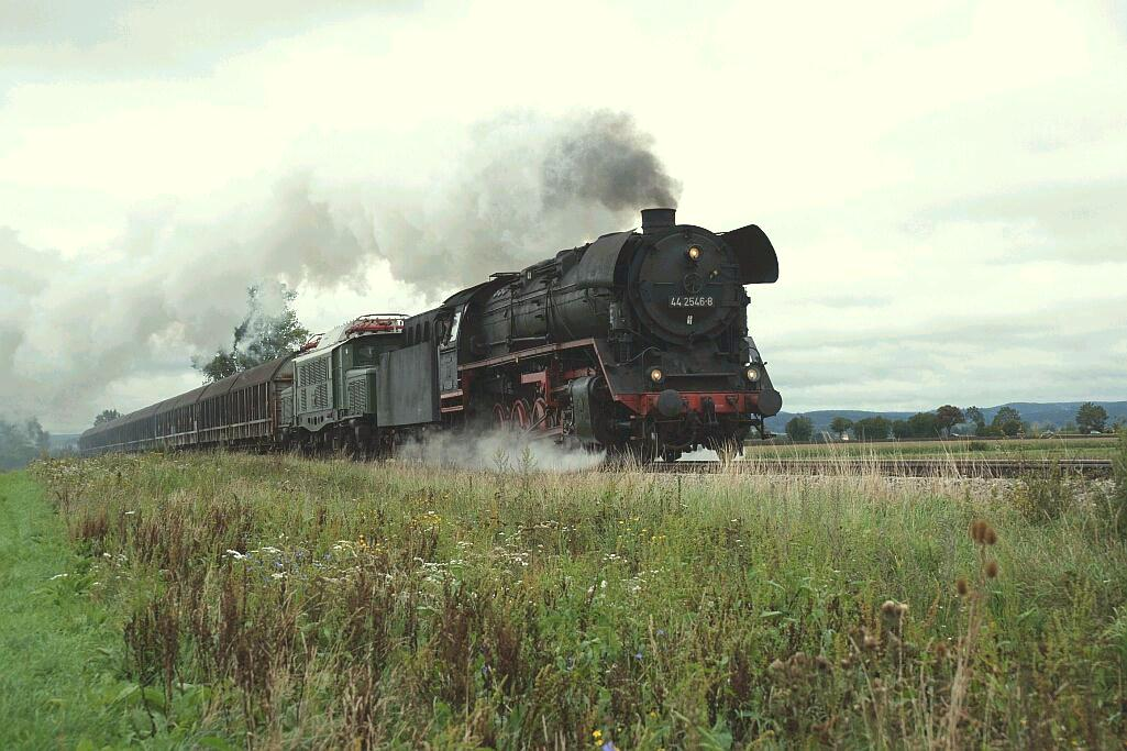 Henkel-Schwarzkopff-Zug am 27.8.2011 bei Auhausen
