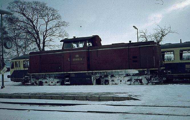 Dombühl Januar 1979