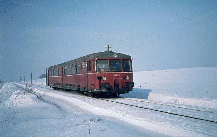 Froschmühle km 33,3 am 30.1.1982