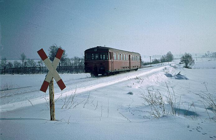 BÜ Froschmühle 30.1.1982
