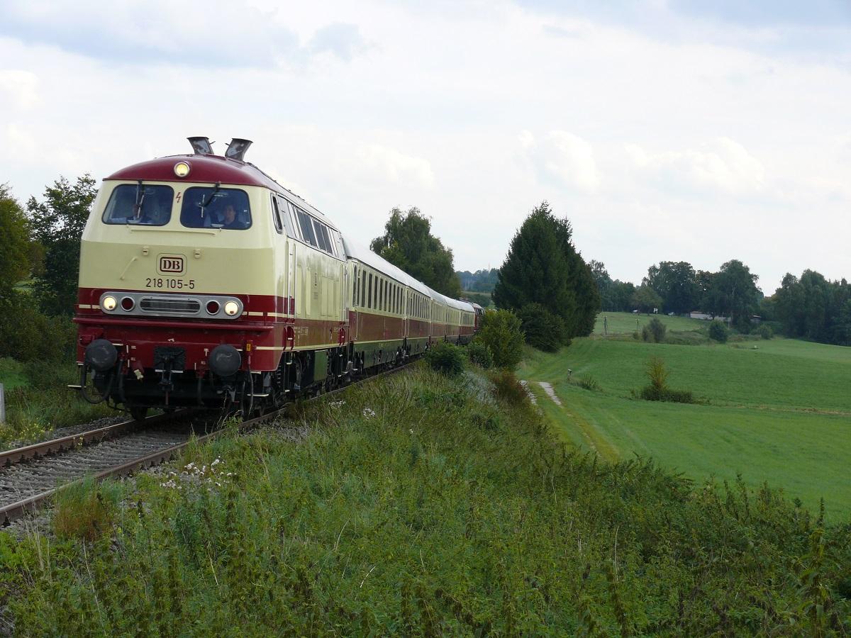 Rückfahrt von Dinkelsbühl nach Aschaffenburg bei km 33,0 am 18.9.2010