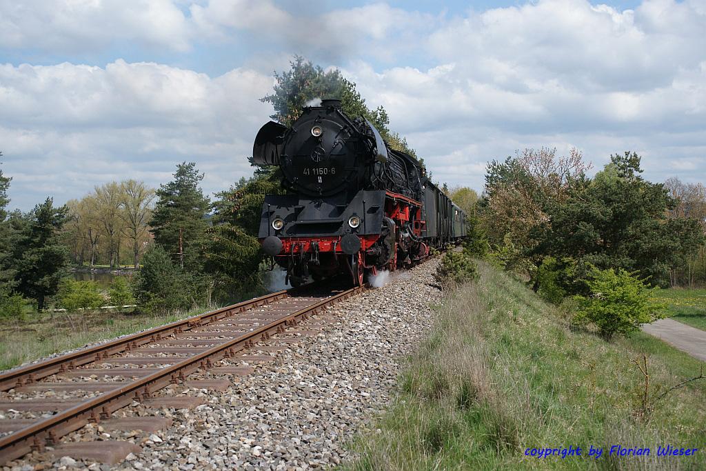 41 1150 bei Kaltenbronn Ostern 2014