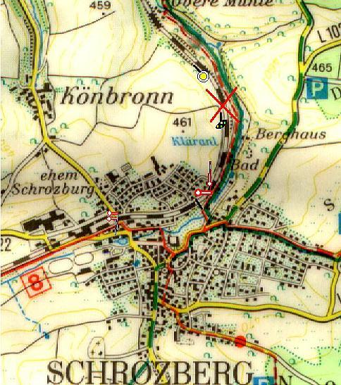 Unfallkarte Schrozberg