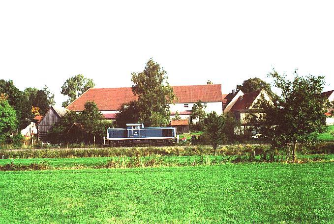 Lz aus Wilburgstetten zurück nach Dinkelsbühl 4.10.1995