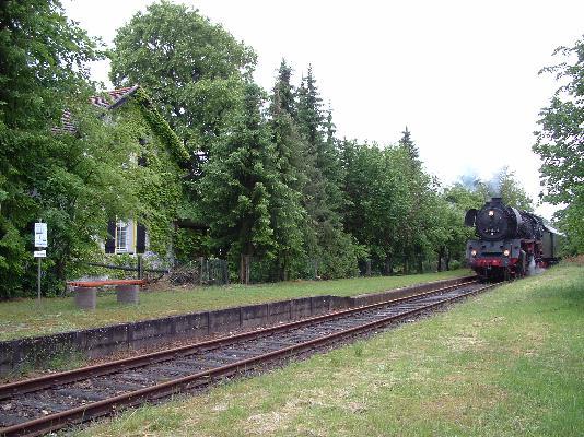 Einfahrt Schopfloch am 28.5.2007
