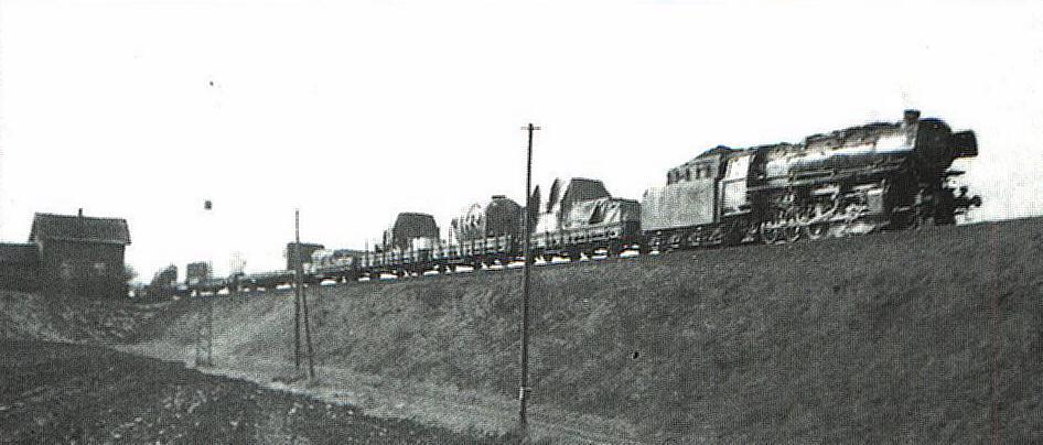 Ng 16 511 beim Wärterposten Leutershausen-Wiedersbach