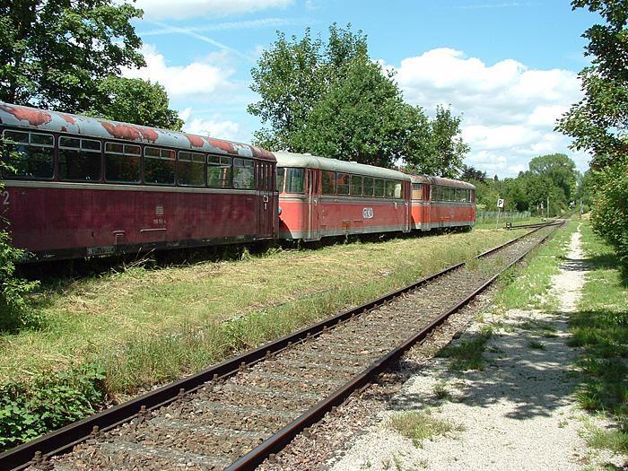 Schienenbus von Jürgen Herberg 2006 n Martkoffingen