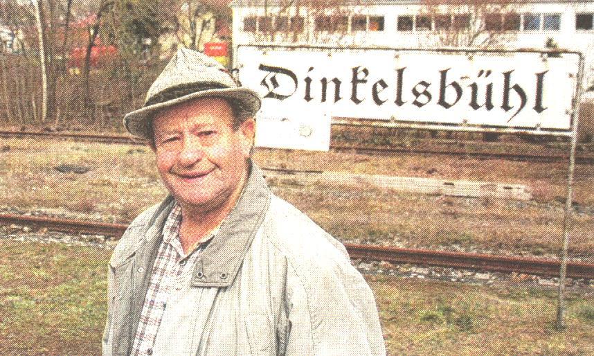 Ehemaliger Bahnbeamter Max Weis