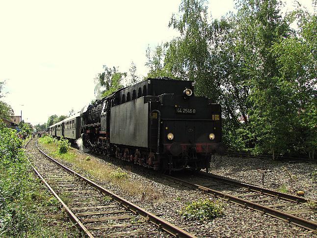 Feuchtwangen Gleis 2 am 28.8.2011