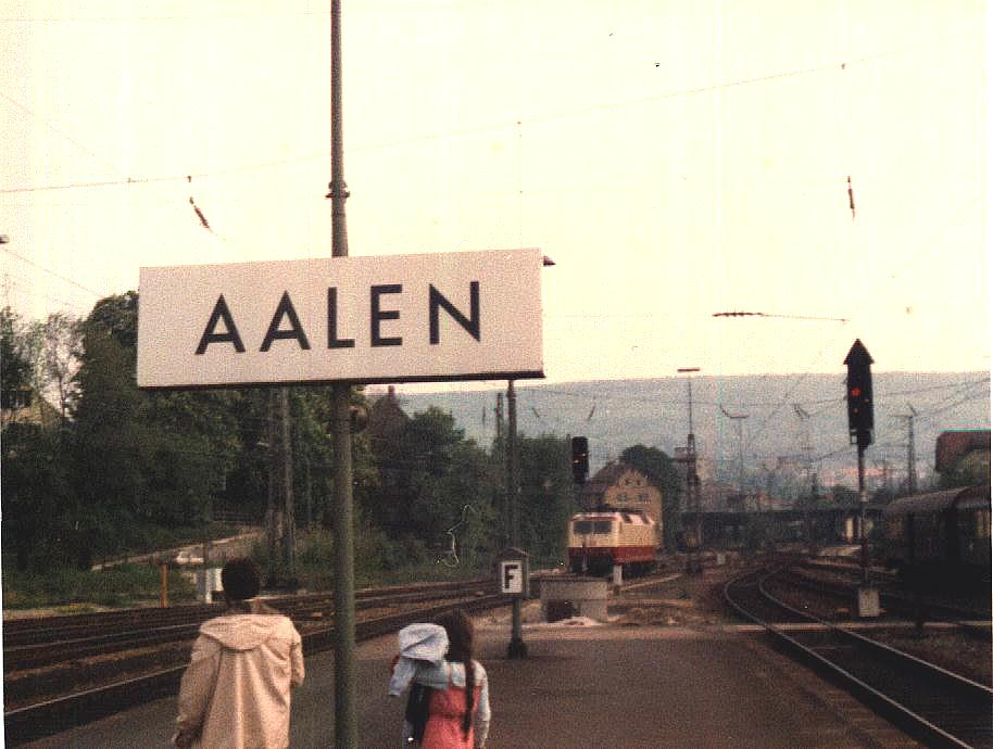 120er Sonderzug 1985 Aalen