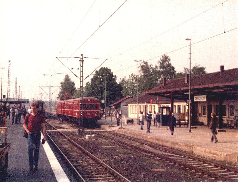 ET 65 in Crailsheim Mai 1985 Gleis 2