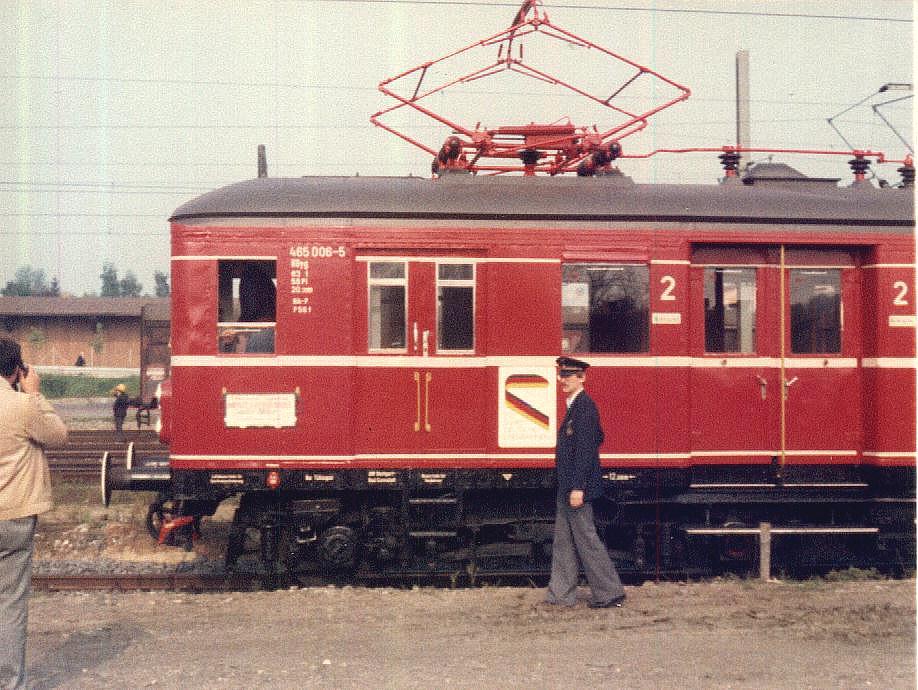 ET 65 in Crailsheim Mai 1985