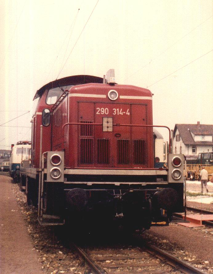 290 314-4 in Crailsheim Mai 1985