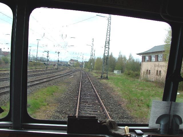 Einfahrt Nördlingen 22.04.2012