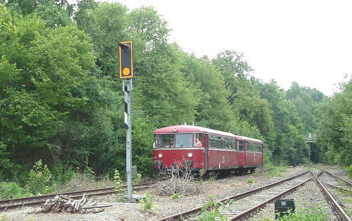 VT 98 Pfalzbahn am 27.7.2008 in Dinkelsbühl
