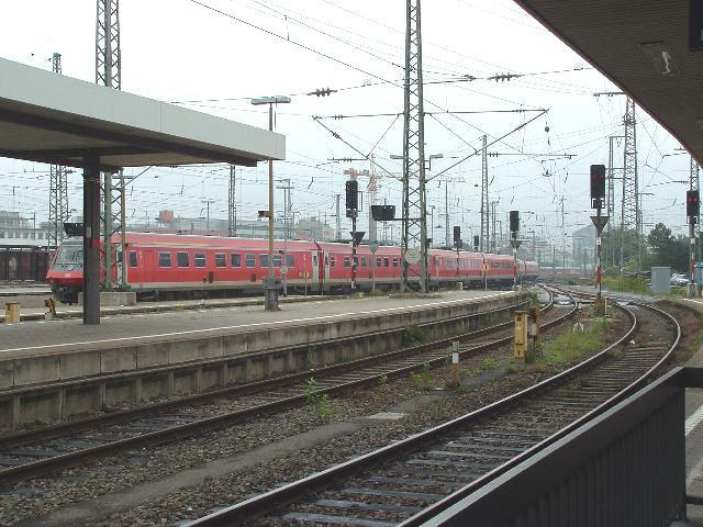 610 in Nürnberg Hbf 2007