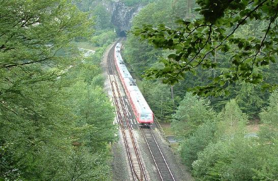 610 südlich Hufstätte-Tunnel 2007